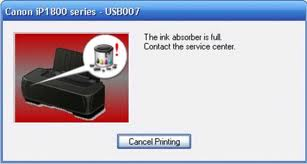 Canon printer reset 5B00 5B01 P07 P08 E07 E08