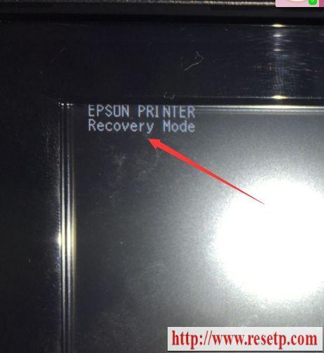 爱普生L565 L655 WF2631 WF2651 2661软件刷机还原Recovery Mode